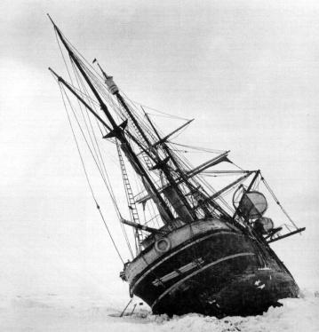 El barco Endurance