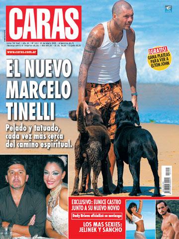 Marcelo Tinelli en la revista Caras